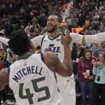 NBA – Rudy Gobert fait gagner le Jazz dans les ultimes secondes !