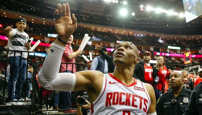 Russell Westbrook des Houston Rockets