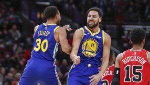 NBA – Le trade qui offrirait aux Warriors un gros pivot pour aider Curry et Klay