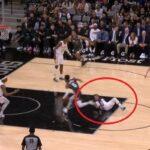 NBA – Trae Young se retrouve sur les fesses après un cross !