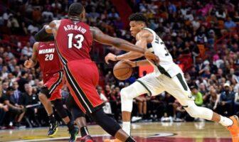 Kendrick Perkins voit fit parfait entre Giannis et Heat