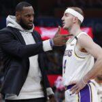 NBA – Alex Caruso révèle ce qui le sidère chez LeBron James