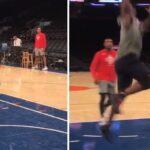 NBA – Zion apparaît prêt à jouer au Madison Square Garden !