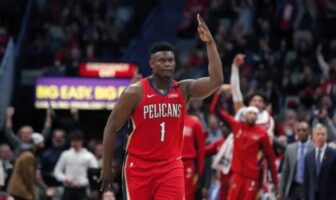 Zion Williamson des Pelicans