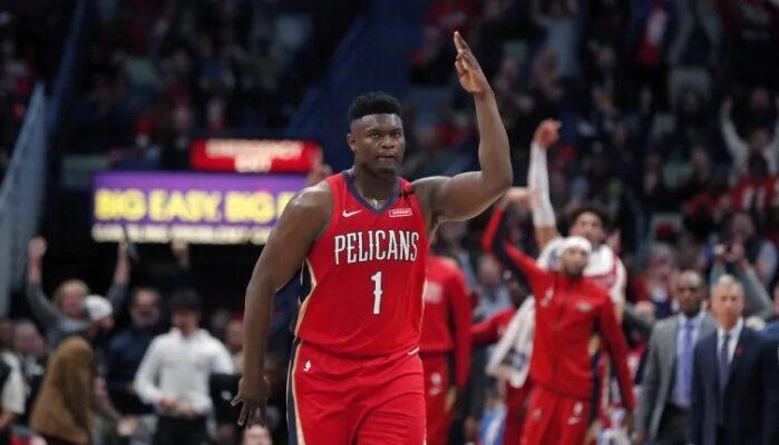 Zion Williamson des Pelicans