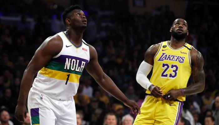 LeBron James survole les débats dans son duel avec Zion Williamson !
