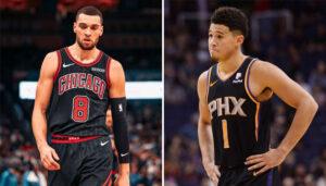 NBA – Devin Booker et Zach LaVine se lâchent après avoir été snobés