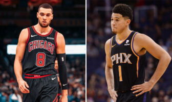 Zach LaVine et Devin Booker réagissent à leur non sélection au All-Star Game