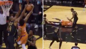 NBA – Serge Ibaka assassine Kelly Oubre sur un énorme contre !