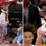 NBA – L'énorme claquette dunk de Jaxson Hayes !