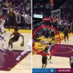 NBA – Collin Sexton crosse son défenseur hors du terrain !