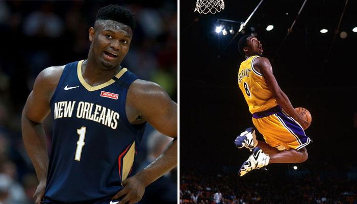Zion Williamson a évoqué son souvenir préféré de Kobe Bryant