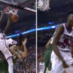 NBA – Giannis postérisé par Chris Boucher !