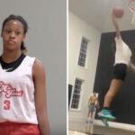 Divers – À 13 ans, la fille du Shaq fait le buzz en dunkant déjà !
