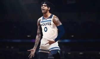 D'Angelo Russell sous le maillot des Wolves