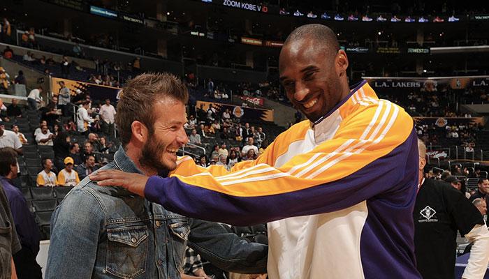 David Beckham s'exprime sur le décès de Kobe Bryant