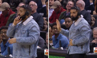 Drake intenable au micro des Raptors