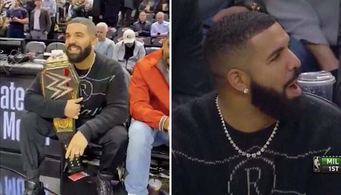 Intenable, Drake trolle sauvagement les Bucks.. et trash-talke Giannis