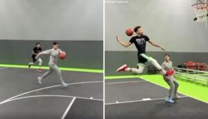 Divers – Un dunk unique, jamais vu en NBA, fait le buzz