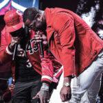 NBA – Dwyane Wade pose un Feat avec Rick Ross pendant sa cérémonie