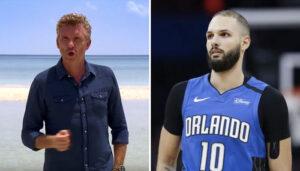 NBA – Evan Fournier complètement déchainé devant Koh Lanta !