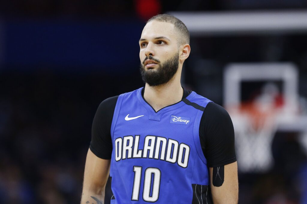 Evan Fournier sous le maillot du Orlando Magic