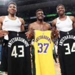 NBA – Les Lakers règlent l'avenir de Kostas Antetokounmpo, Giannis réagit
