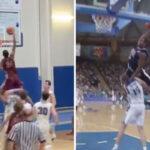 NBA/High school – Un gamin imite le dunk de Vince Carter sur Fred Weis en plein match