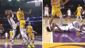 NBA – Ja Morant sauvagement contré par Dwight Howard !