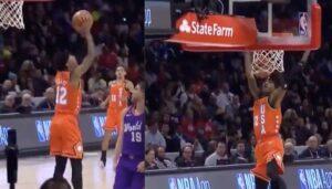 NBA – Ja Morant cale un 360 en plein match !