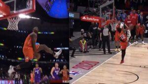 NBA – Zion Williamson et Ja Morant font le show dans un concours de dunks improvisé !