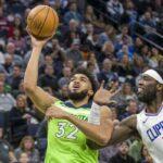 NBA – Les nouveaux Wolves mettent la fessée aux Clippers avec un record de franchise !