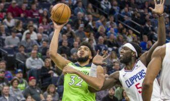 Les nouveaux Wolves mettent la fessée aux Clippers avec un record de franchise !