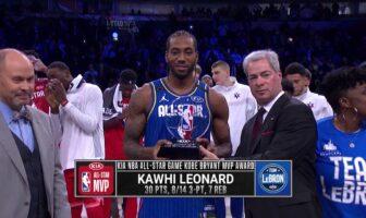 Kawhi Leonard MVP du All-Star Game