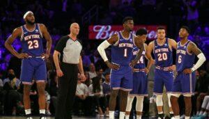 NBA – De nouvelles tensions dans le vestiaire des Knicks ?