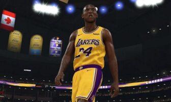 Le geste de 2K20 pour Kobe Bryant