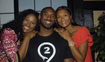Kobe Bryant et ses soeurs Sharia Shaya