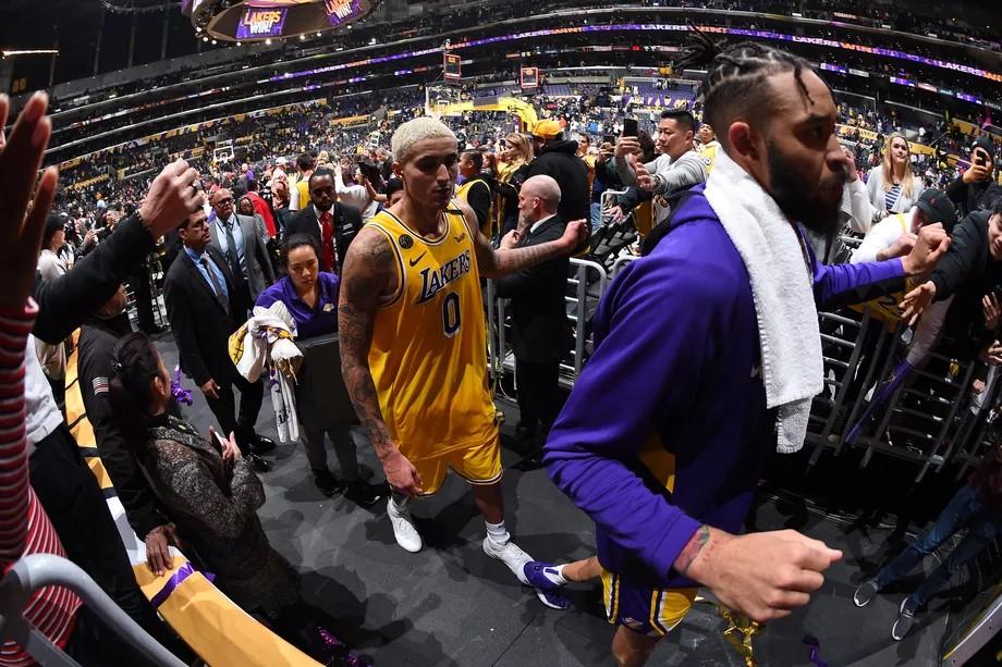Kyle Kuzma des Lakers