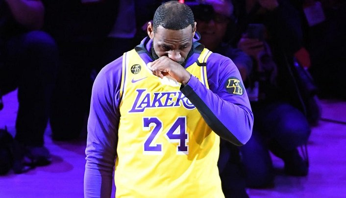 LeBron James discours hommage à Kobe Bryant