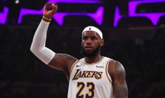 lebron james plus satisfait que jamais chez les Lakers