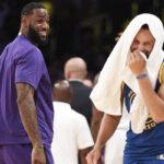 NBA – Après le match, LeBron envoie un énorme message à Steph Curry !