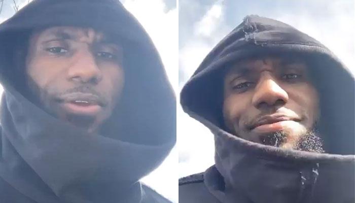 La petite surprise de LeBron James en rentrant chez lui