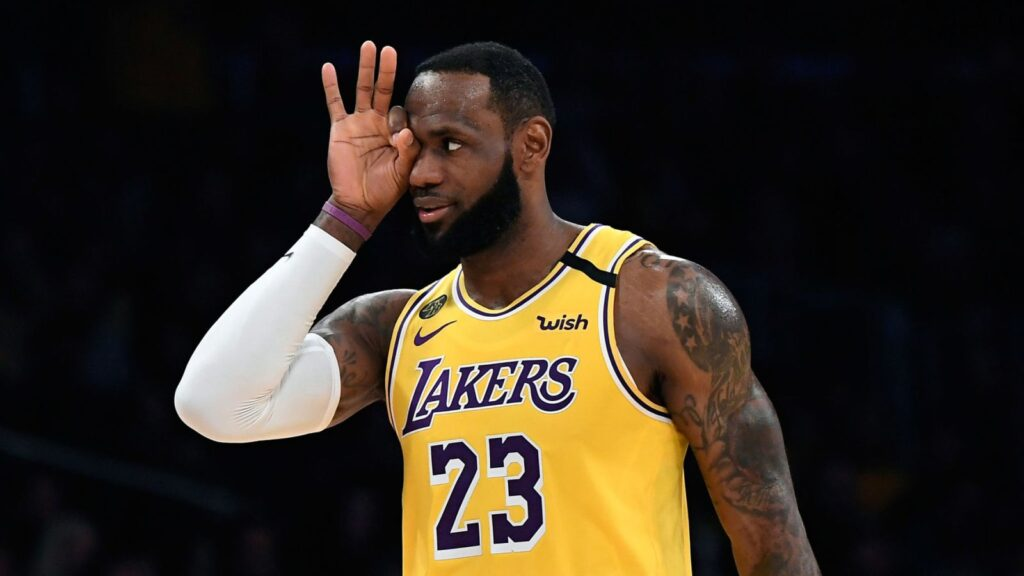 LeBron James des Los Angeles Lakers