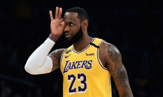 LeBron James des Los Angeles Lakers