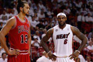 NBA – Joakim Noah honnête sur LeBron James