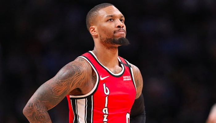 Lillard réagit à son absence du All-Star Weekend