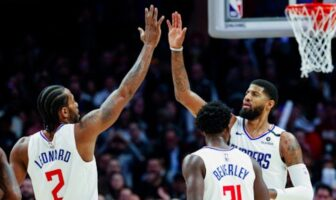 check entre kawhi Leonard et paul george