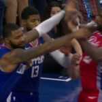 NBA – Marcus Morris s'embrouille déjà avec Joel Embiid, le pivot se venge !