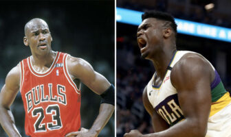 Michael Jordan et Zion Williamson