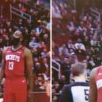 NBA – La réaction géniale de James Harden, choqué par ses coéquipiers